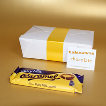 Cadbury Dairy Milk Caramel chocolate gifts UK delivery, fun chocolate gifts