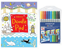 Get well hospital gift ideas, childrens hospital gifts, colouring get well soon presents for children in hospital UK